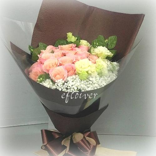 御花苑-  真愛玫瑰花束