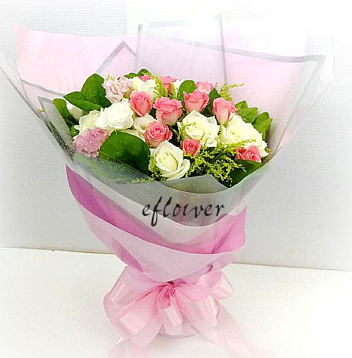 柔韻玫瑰花束