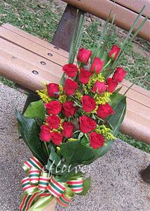 御花苑真愛吶喊-紅玫瑰花