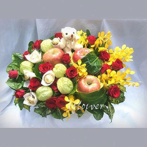 水果花禮-平安水果花禮