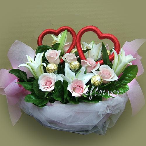 玫瑰花-愛馨花禮 -2040