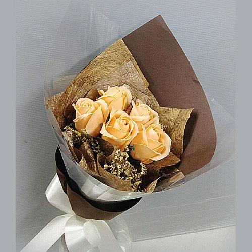 玫瑰花香皂花束9008