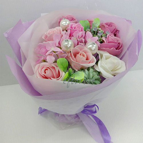 甜心香皂玫瑰花9012