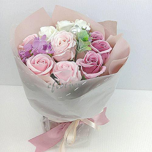 甜心香皂玫瑰花9014